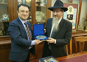 Adnan Oktar'ın temsilcileri Moskova'da düzenlenen 'Rus-Türk İlişkileri' Panelinde